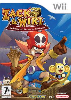 Zack y Wiki: En busca del Tesoro de Barbaros Wii Wbfs Español Multi5 Googledrive